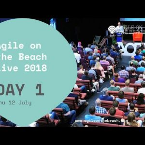 Thursday - 2018 Live - Keynote, Sessions, Interviews, Round Tables & more - Agile on the Beach 2018