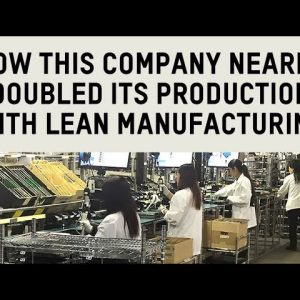 Lean manufacturing and productivity | Flexpipe's material handling case study
