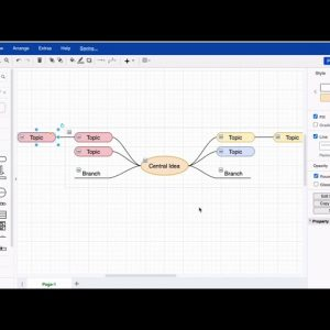 Add more shapes to your mind map in draw.io for Atlassian Confluence & Jira
