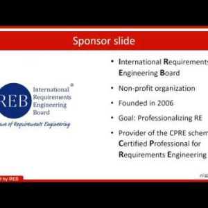Applied Requirements Engineering: How to increase project success June 24, 2020
