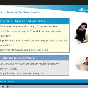 Empowering the Business Analyst to Deliver Strategic Analytics with Ease Webinar