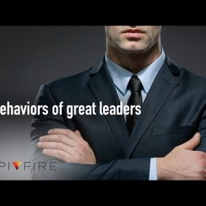 3 behaviors of great leaders