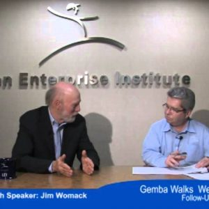 A Post-Webinar Interview with Jim Womack about Lean Gemba Walks
