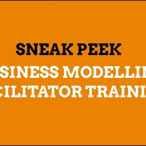 A sample from Business Modelling Facilitator Training