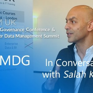 In Conversation With Salah Kamel of Semarchy | MDM Summit & Data Governance Conference Europe 2019