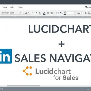 Lucidchart Sales Solution Tutorials - Using the LinkedIn Sales Navigator Integration