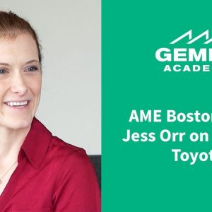 AME Boston 2017: Jess Orr on Leaving Toyota