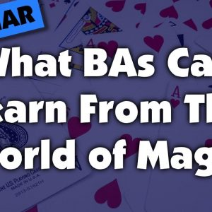 """And then the magic happens""What BAs can learn from the world of magic"