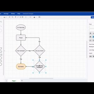 Add shapes to an existing flowchart in draw.io for Atlassian Confluence & Jira