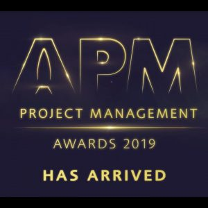 APM Project Management Awards 2019