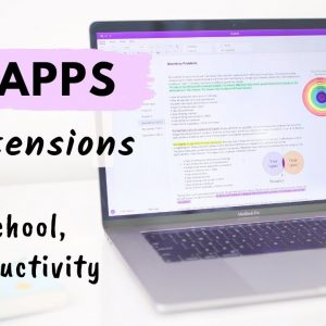 10 Apps & Extensions for School & Productivity all students need! 🖥