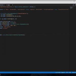 A bare minimum yFiles for HTML 2.1-powered webapp with Visual Studio Code