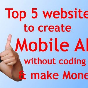 best app creator website | create mobile app without coding