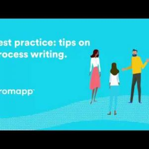 Best practice tips on process writing