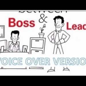 Boss vs Leader - Voice Over Version