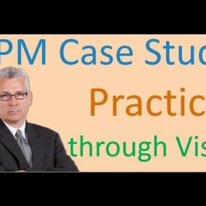 BPMN Diagram and Case Study through  MS Visio