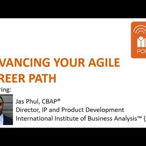 Business Analysis: Advancing Your Agile Career Path