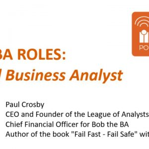 New Business Analyst Roles: Hybrid Business Analyst by Paul from Bob the BA
