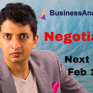 Business Analyst Training for Beginners: Negotiation