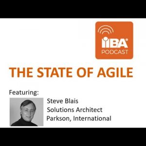 The State of Agile by Steve Blais, Solutions Architect - A Business Analysis Podcast by IIBA