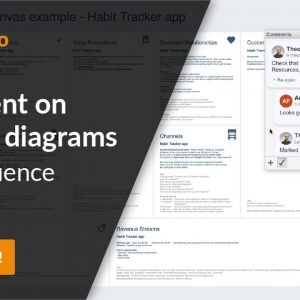 Comment on draw.io diagrams in Confluence Cloud