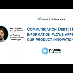 Communication debt: How information flows affect our product innovation