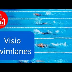 Create a Swim Lane Flowchart in Visio