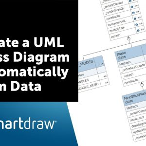Create a UML Class Diagram Automatically from Data