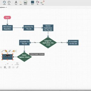 Create Instant flowcharts with Creately