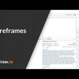 Create wireframes and mockups in draw.io