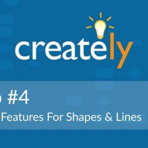Creately Tip #4 - Text Features For Shapes and Lines