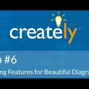 Creately Tip #6 - Styling Features For Beautiful Diagrams