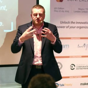 Cris Beswick's opening keynote at the 2015 Intrapreneurship Conference