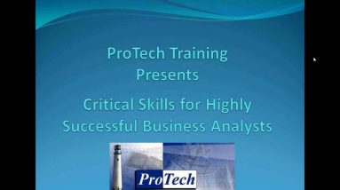 Critical Skills for the Business Analyst