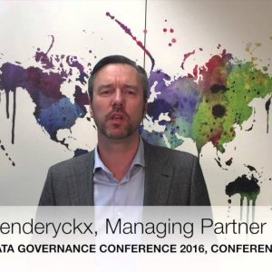 Data Governance Conference Europe 2016, London, Chair Introduction