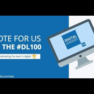 Digital Leaders 100 nominated in 2 categories