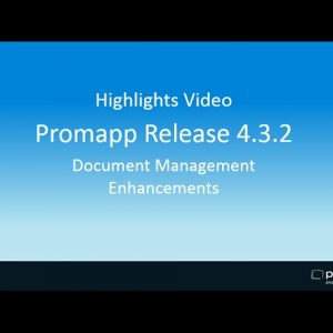 Document Management Enhancements in Promapp Release 4.3.2
