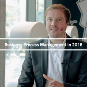 Dr. Gero Decker on the state of Business Process Management in 2018