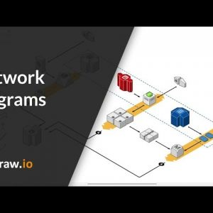 Create infrastructure and network diagrams quickly and easily in draw.io