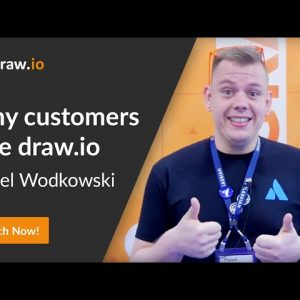 Pawel Wodkowski talks about his experience as a UX designer using draw.io