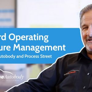 Standard Operating Procedure Management with Mainline Autobody and Process Street