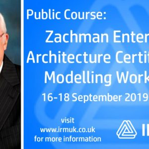 In conversation with John Zachman - Zachman EA Certification: Modelling Workshop