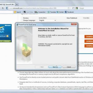 Excel 2010 Making Excel Powerful- Installing PowerPivot