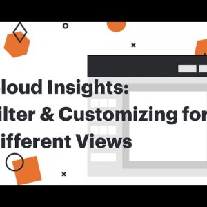 Filter & customize your cloud diagrams to create different views
