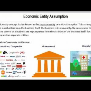 Financial Accounting - Assumptions GAAP- Tutorial 8 of 10