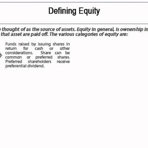 Financial Accounting  Concepts- Owners Equity - Tutorial 5 of 10