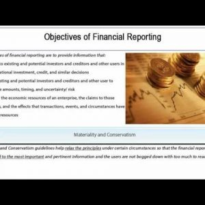 Financial Accounting - GAAP Constraints Tutorial 10 of 10