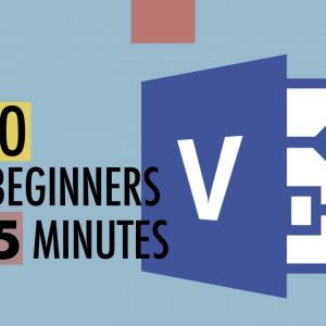 Microsoft Visio Tutorial For Beginners - Get Started with Shapes and Connectors