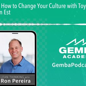GA 238 | How to Change Your Culture with Toyota Kata with Emiel van Est