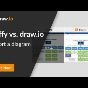 Gliffy vs. draw.io comparison - Import a diagram